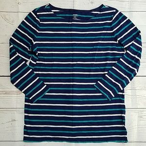 Old Navy Small blue stripe shirt